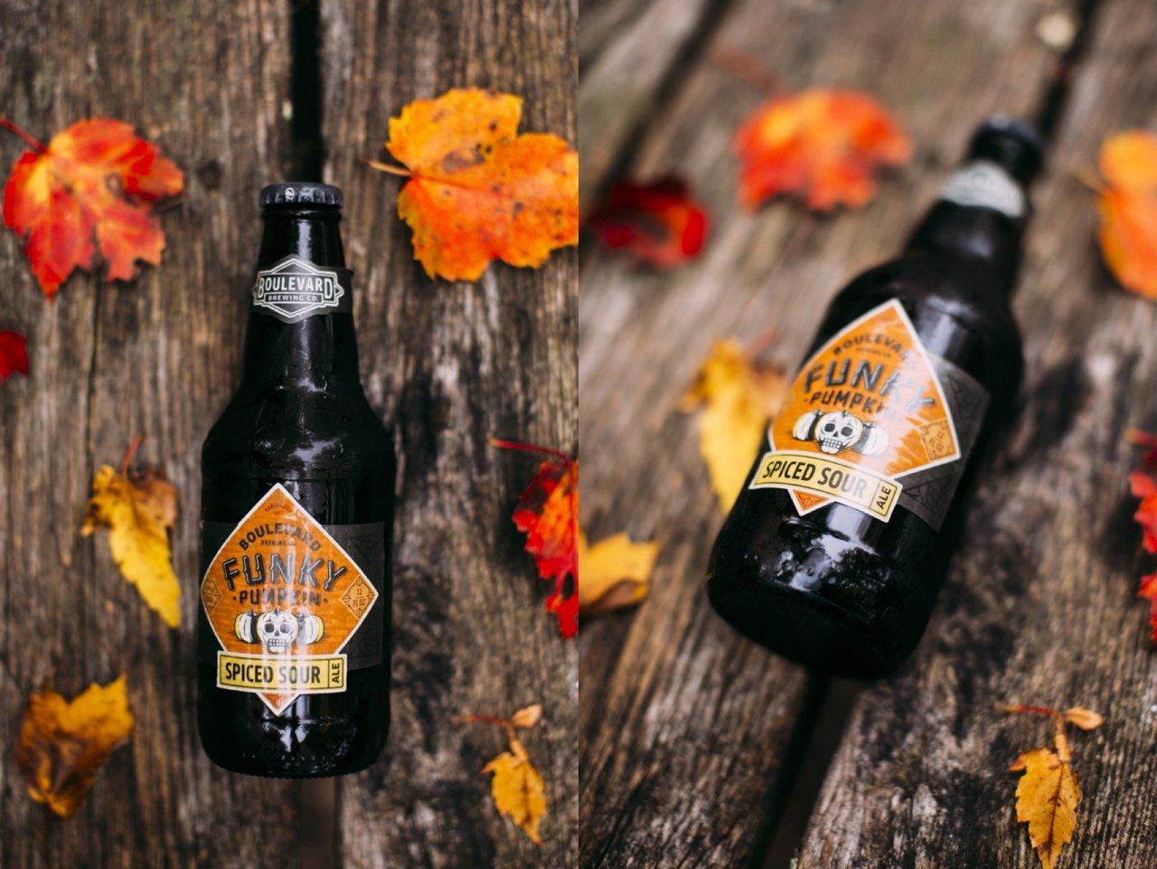 Funky Pumpkin Spiced Sour Beer
