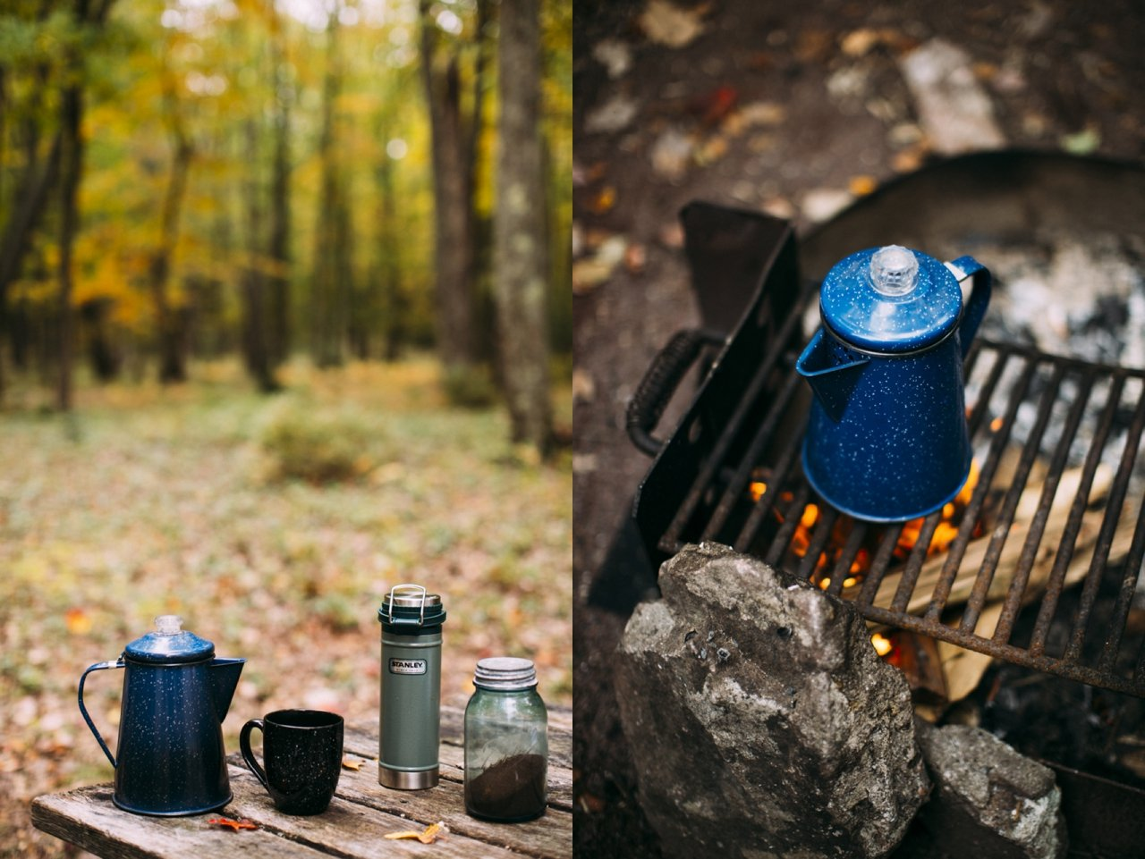 Camp Coffee Essentials | streetsandstripes.com