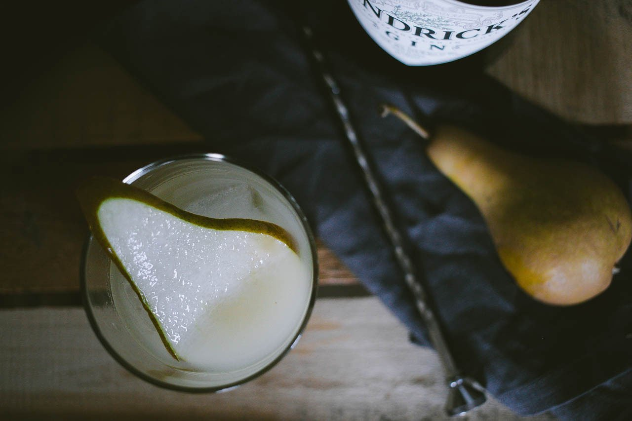 Pear & Ginger Cocktail