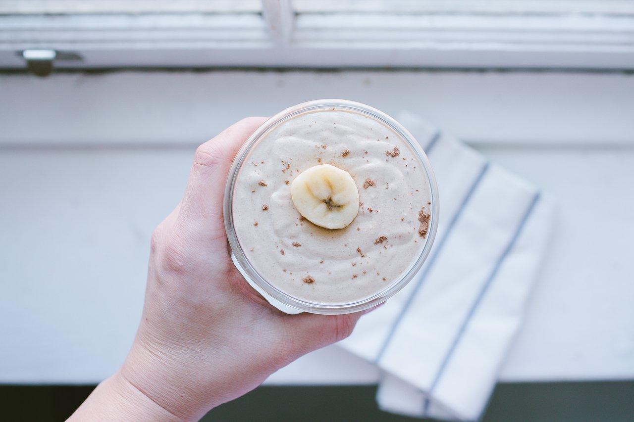 Peanut Butter Banana & Oatmeal Smoothie